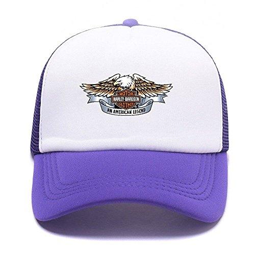 Baseball Trucker Boy Caps D Men Black Girl Harley Hat Gorras Cap 008 Purple béisbol Women For de Mesh 0ESHtqxw
