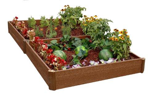 Greenland Gardener 8-Inch Raised Bed Garden Kit