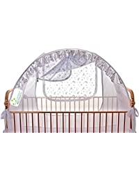 Best Baby Crib Safety Net Tent - Tried and Tested - Safe and Secure - Proven to Keep Your Baby Safe from Climbing Out. Finest Quality Original Australian Design Pop Up Crib Canopy Cover Easy Assembly BOBEBE Online Baby Store From New York to Miami and Los Angeles