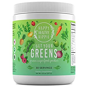 Gut Health Shop 51QEN9spbqL._SS300_ Get Your Greens Super Greens Powder – Powerful Servings of 10 Green Juice Blend, 8 Superfood Antioxidants, 6 Key Enzymes…
