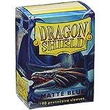 Arcane Tinman Dragon Shield Matte Blue 100 Protective Sleeves