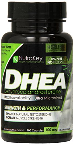 NutraKey Dhea Capsules 100 Count