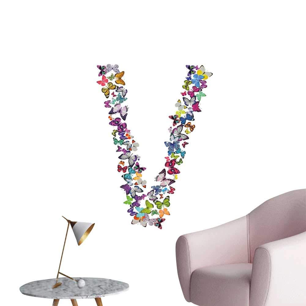Amazon.com: Alexandear Letra V Adhesivos para decoración de ...