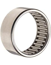 Koyo HK2516B Needle Roller Bearing, Caged Drawn Cup, Steel,  Metric 25 millimeters ID, 32 millimeters OD, 16 millimeters Width, 13000 rpm Max RPM, 5283 pounds Static Load Capacity, 3508 pounds Dynamic Load Capacity