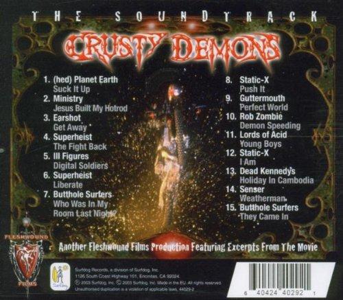 Crusty Demons Of Dirt 7 Song List