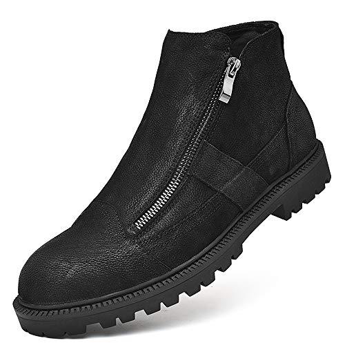 Comoda Comoda Comoda Entrambi Warm EU Shoes con Top Top Top alla Nero Color Lati Moda Sunny 40 Black Convenzionale Casual Durevole Stivaletti Cerniera Lined su amp;Baby Classic Uomo Optional i Fleece Dimensione da High SqH87