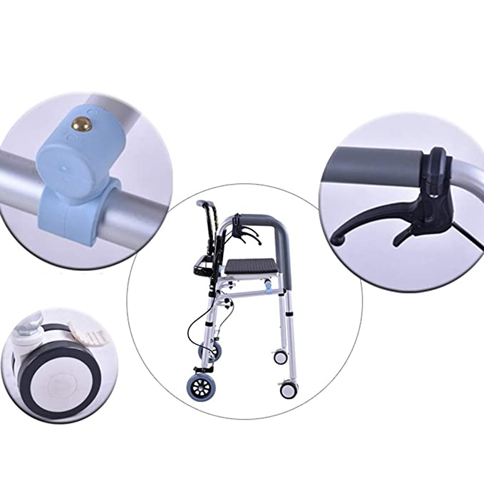 SCJ Altura Regulable articulado Plegable de Aluminio Ligero ...