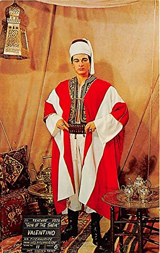 Rudolph Valentino In The Son of the Sheik, Buena Park, California, CA, USA Theater Postcard