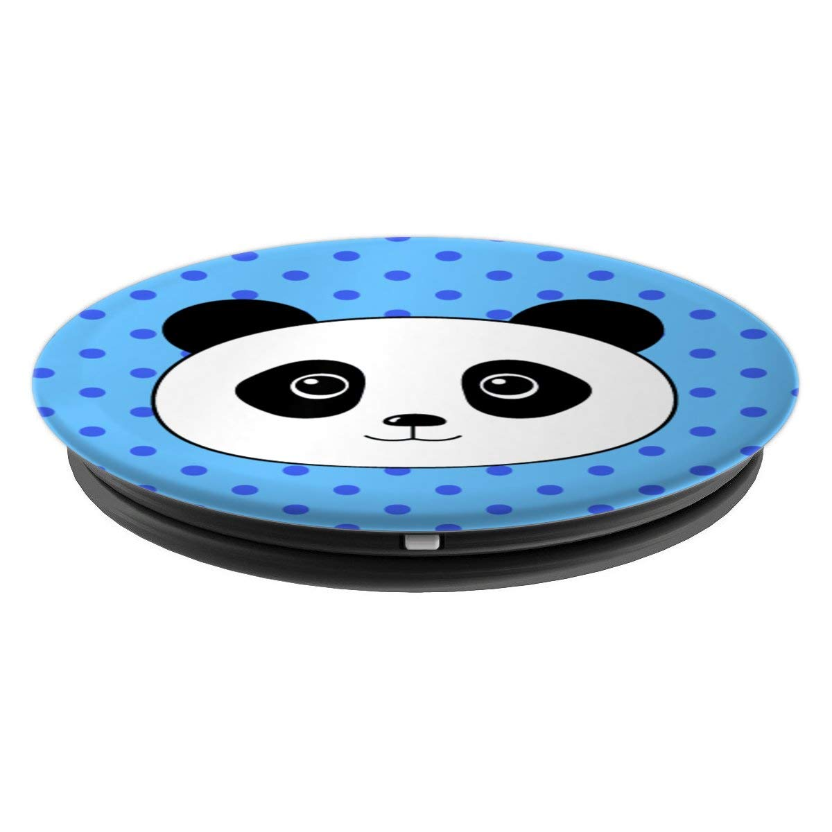 Amazon.com: Cute Kawaii Baby Panda Stuff Gift Sky Blue Pop Socket Girly - PopSockets Grip and Stand for Phones and Tablets: Cell Phones & Accessories