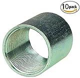 Galvanized Steel Couplings for Rigid Electrical Conduit and Intermediate Metallic Conduit (IMC) (2-1/2 in. (10-pack))