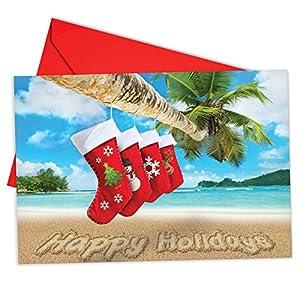51QEORU0mjL._SS300_ Beach Christmas Cards and Nautical Christmas Cards