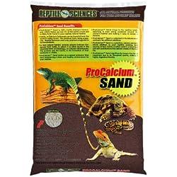 Reptile Sciences Terrarium Sand, 10-Pound, Brown