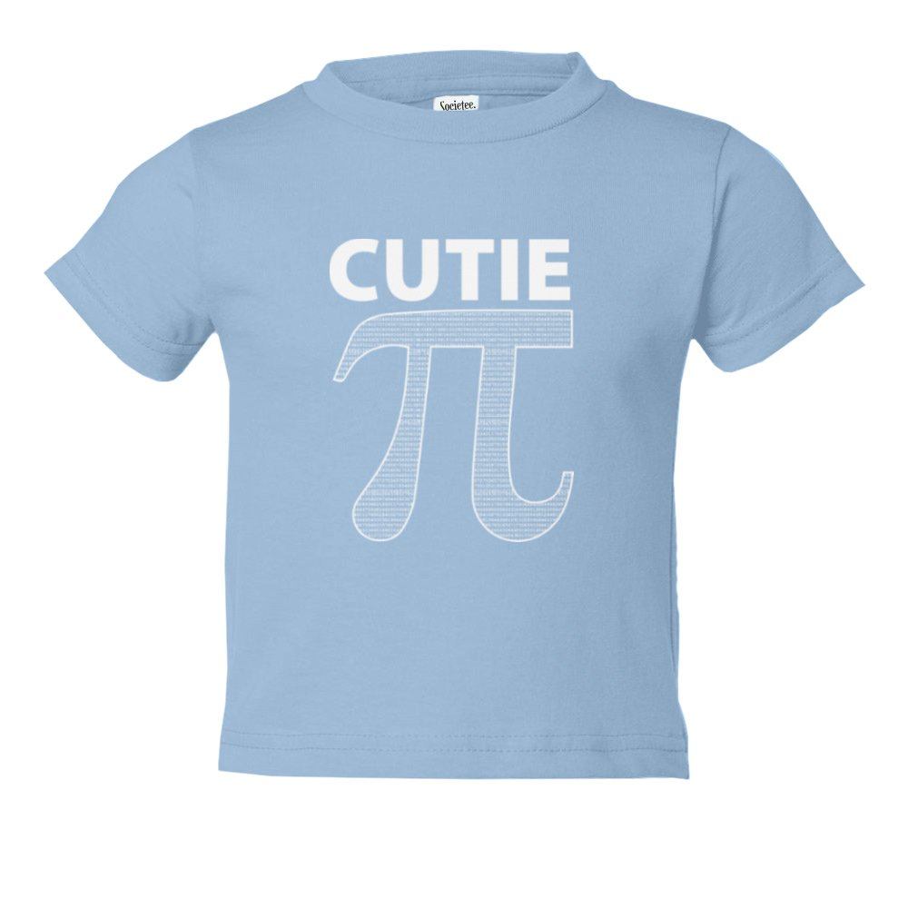 Cutie Pi Symbol Funny Youth /& Toddler Tee Shirt