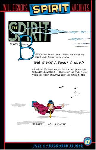 Download Spirit, The - Achives, Volume 17 (Spirit Archives (Graphic Novels)) PDF