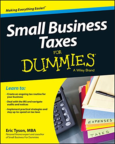 Small Business Taxes For Dummies (Corporate Tax E&e)