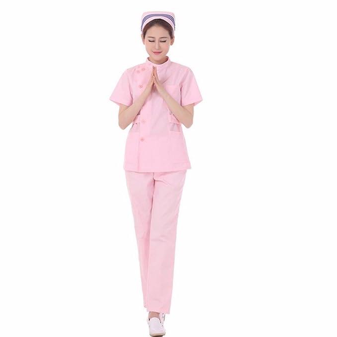 Xuanku Tienda De Ropa De Trabajo, Medical Body De Manga Corta, Laboratorio, Farmacia