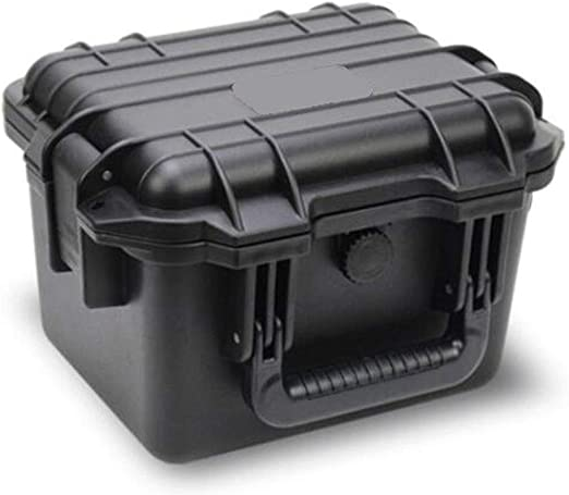 Myself-Toolbox LA113112 Negro con Esponja Caja Protectora portátil ...