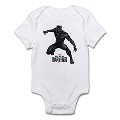 1563092e1 Amazon.com  CafePress Black Panther Cute Infant Bodysuit Baby Romper ...