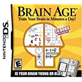 Brain Age Train Your Brain In Minutes A Day - Nintendo DS