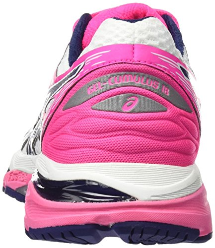 Scarpe Blue White 18 Asics Cumulus Running Indigo Donna Hot Multicolore Pink Gel 1wz6zqxt