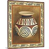 Chariklia Zarris Premium Thick-Wrap Canvas Wall Art Print entitled Southwest Pottery IV 20''x24''