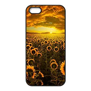 Creative Phone Case Sunflower For iPhone 5,5S Y567540