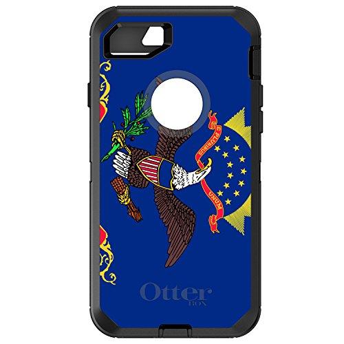 (CUSTOM Black OtterBox Defender Series Case for Apple iPhone 7 PLUS / 8 PLUS (5.5