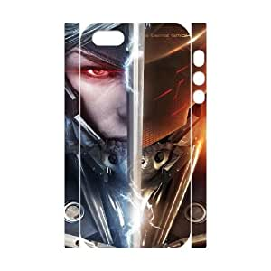 1 iphone 5 5s Cell Phone Case 3D Metal Gear Rising RevengeanceClassical