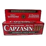 Capzasin-HP Arthritis Relief Topical Analgesic Cream, .1-Percent Capsaicin, 1.5-Ounce Tubes (Pack of 2)