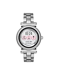 Michael Kors Access MKT5036 Smartwatch para Mujer, color Plata
