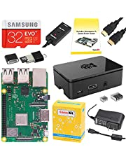 CanaKit Raspberry Pi 3 B+ (B Plus) Starter Kit (32 GB EVO+ Edition, Premium Black Case) with PiSwitch
