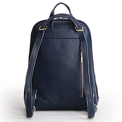 E à en LF cuir Sac dos main portés Bleu femme Sac portés fashion 895 Girl épaule Sac SwRrq1S