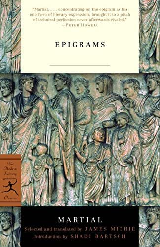 Epigrams (Modern Library Classics)