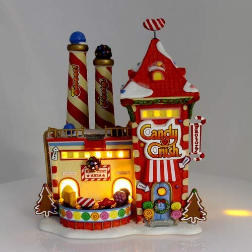 Department 56 North Pole Candy Crush Factory Village Lit Building Multicolor by Department 56 (Image #4)