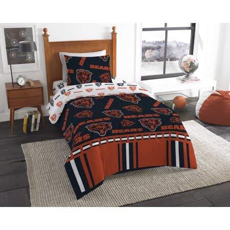 Amazon.com: Juego de cama oficial de Chicago Bears en bolsa ...