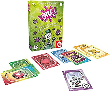 GAMEFACTORY 646239 Virus! Juego de Cartas, Multicolor: Amazon.es ...