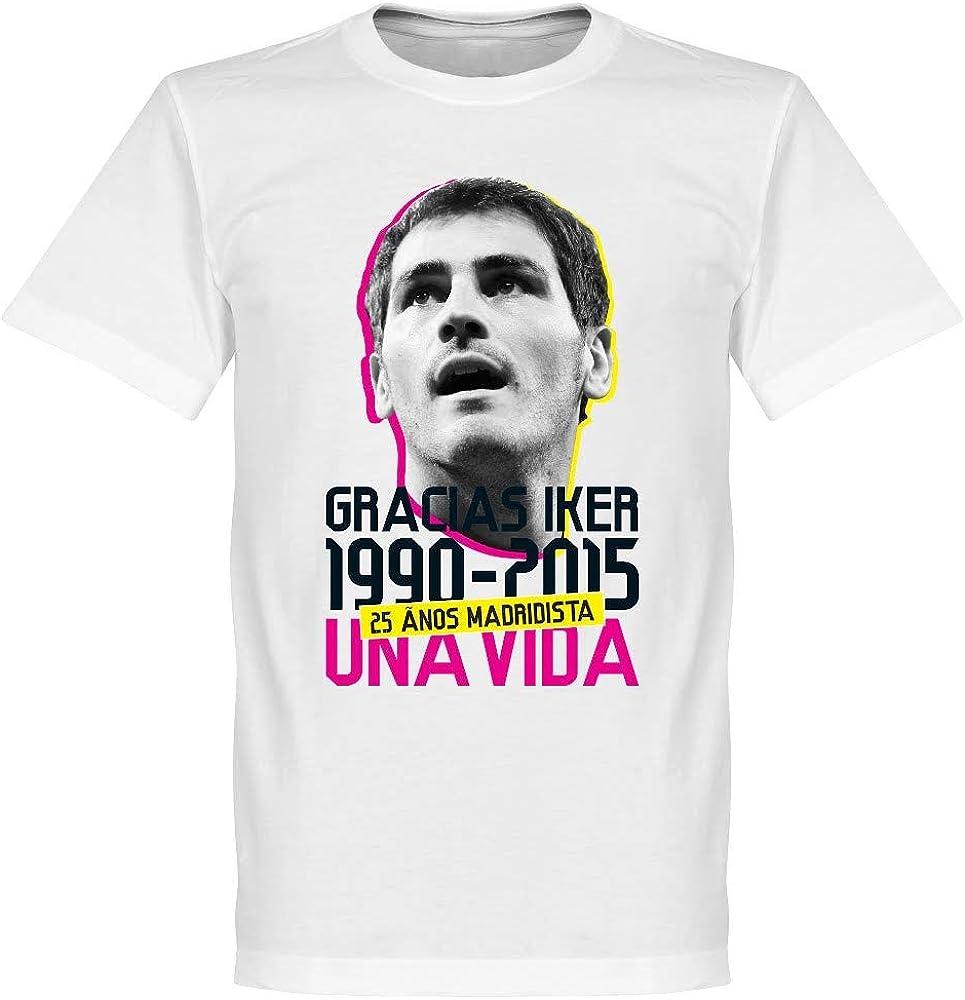 Retake gracias Iker Casillas camiseta – blanco - Ropa