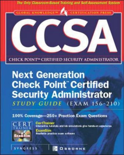 CCSA: Check Point Certified Security Administrator Study Guide ...