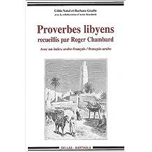 Proverbes Libyens: Recueillis Par Roger Chambard: Index Arabe-fr/