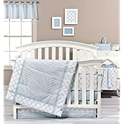 Trend Lab Blue Sky 3 Piece Crib Bedding Set