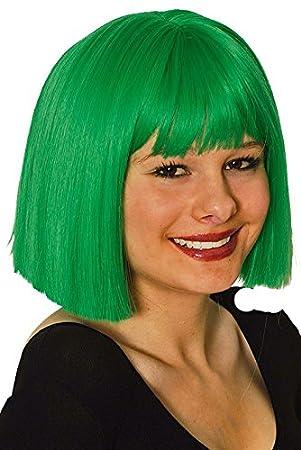 Coco peluca verde Kanekelon