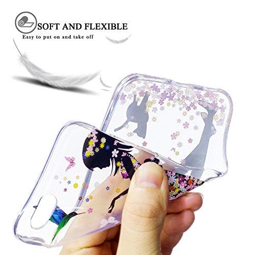 Funda iPhone 6 / 6S, iPhone 6 Funda Silicona, SpiritSun Soft Carcasa Funda para iPhone 6 / 6S (4.7 pulgadas) Ultra Delgado y Ligero Flexible TPU Caja Trasparente Carcasa Case Cristal Gel Protectora Ca Niña