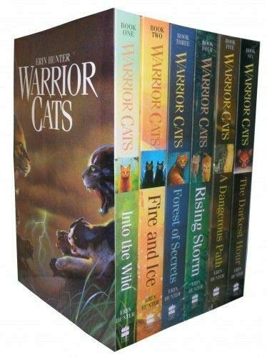 Warriors Box Set: Volumes 1 to 6: The Complete First Series (Warriors: The Prophecies Begin)