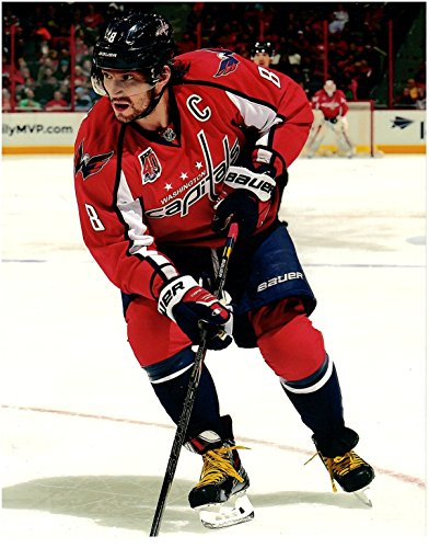Alex Ovechkin Washington Capitals Unsigned 8 x 10 Photo 3