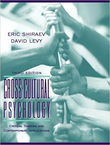Cross cultural psychology critical thinking and contemporary applications 3rd edition