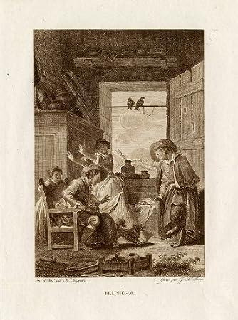 Antiguo ThePrintsCollector cruzerlite-Belphegor-demonio-Fontaine ...