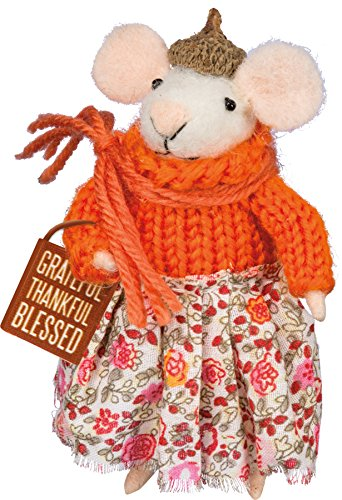 PBK Fall Decor - Thankful Grateful Blessed Mouse