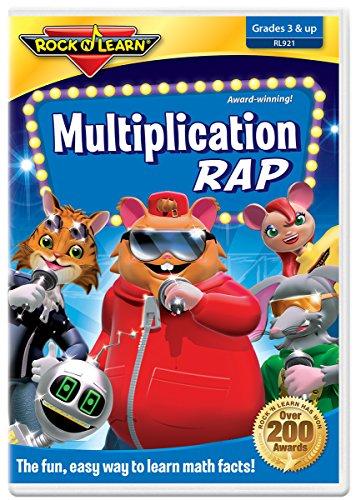 Multiplication Rap DVD by Rock 'N Learn by Rock 'N Learn