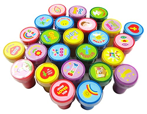 Bodys & Einteiler TINYMILLS 50 Pcs Religious Assorted Stampers for Kids Bekleidung