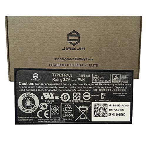 JIAZIJIA FR463 Battery Compatible with DELL PowerEdge 1950 2900 2950 6850 6950 P9110 R515 BBU RAID Controller PERC 5i 6i H700 H800 Series U8735 NU209 0NU209 UF302 XJ547 0U8735 3.7V 7Wh